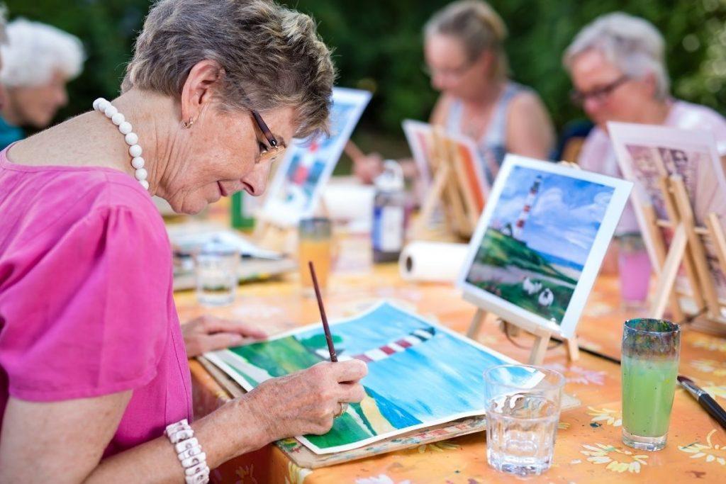 Warsztaty arteterapii dla seniorów