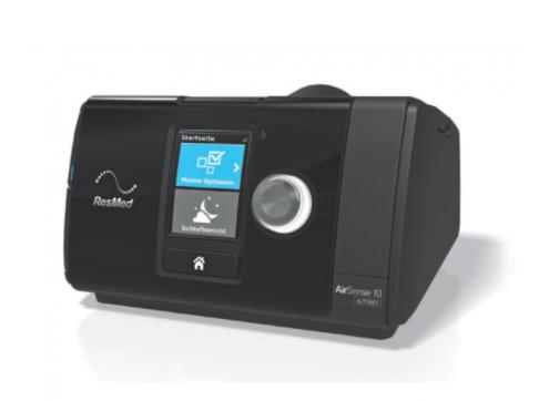 nowoczesny aparat CPAP